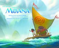 The Art of Moana book cover