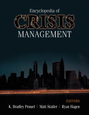 Book jacket for Encyclopedia of Crisis Management