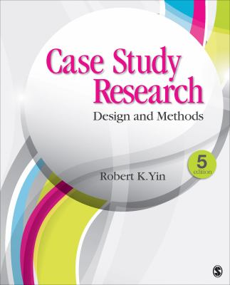 Book cover Case study research: Design and methods