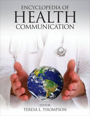 Book jacket for Encyclopedia of Health Communication