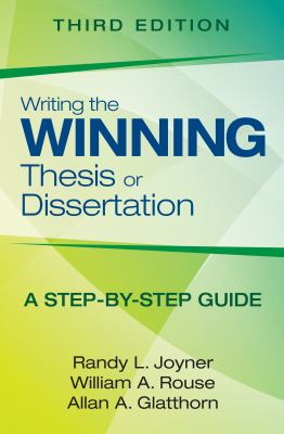 Book Cover for Writing the Winning Thesis or Dissertation