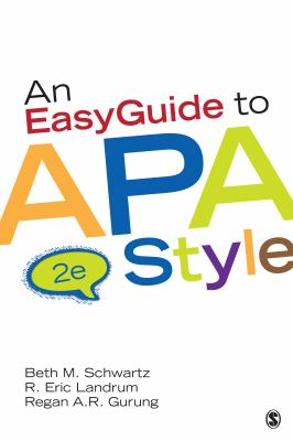 Image of Easy Guide to APA Style Book