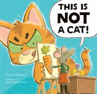"""This is NOT a Cat"" book cover"