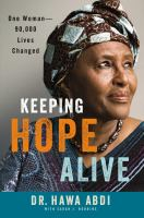 Book cover for Keeping Hope Alive by Doctor Hawa Abdi