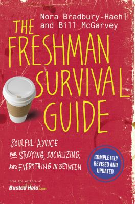 Book cover for The freshman survival guide.
