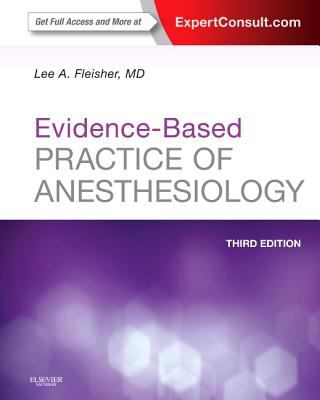 Evidence-Based Practice of Anesthesiology Book Cover