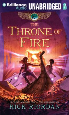 The throne of fire by Riordan, Rick