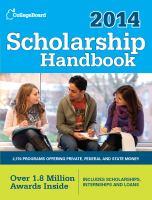 Scholarship handbook 2014.