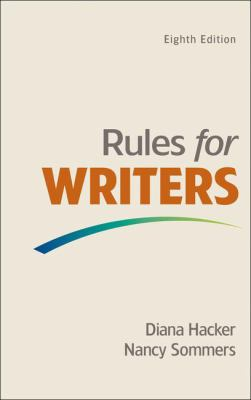 Rules for Writers Cover Art