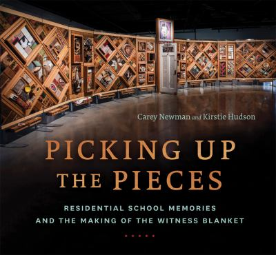 Cover Art for Picking up the Pieces by Carey Newman and Kristie Hudson