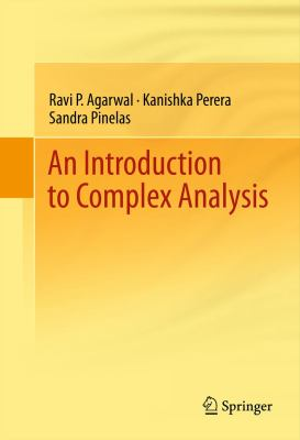 book cover: An Introduction to Complex Analysis