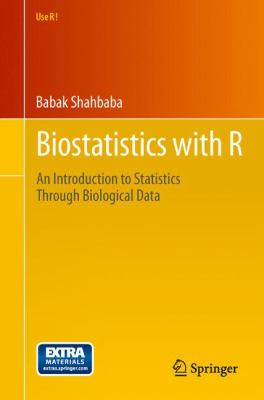 Book cover: Biostatistics with R