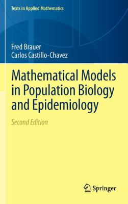 book cover: Mathematical Models in Population Biology and Epidemiology