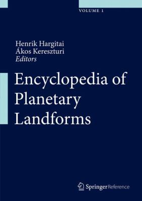 Book Cover : Encyclopedia of Planetary Landforms