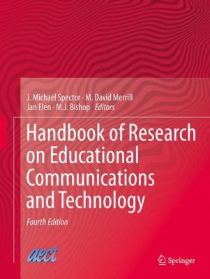 Cover art of Handbook of Research on Educational Communications and Technology