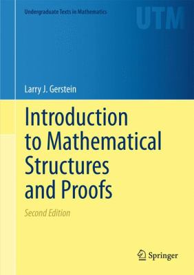 book cover: Introduction to Mathematical Structures and Proofs