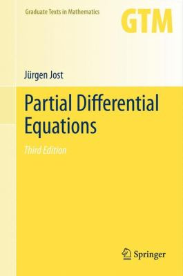 book cover:  Partial Differential Equations