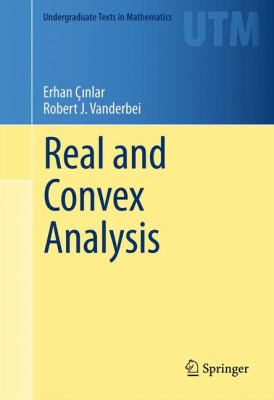 book cover: Real and Convex Analysis
