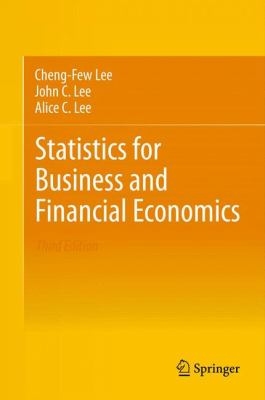 book cover: Statistics for Business and Financial Economics