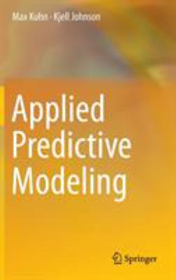 book cover: Applied Predictive Modeling