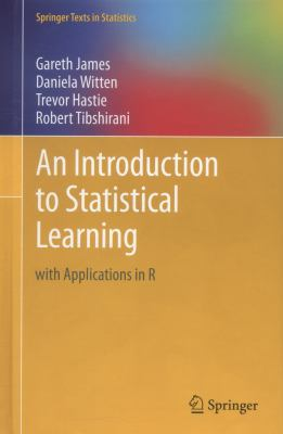 book cover: An Introduction to Statistical Learning