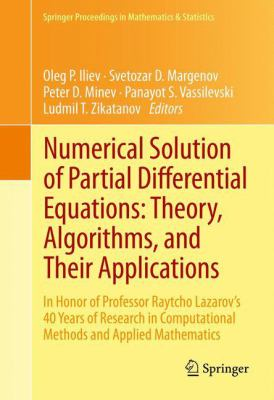 book cover: Numerical Solution of Partial Differential Equations