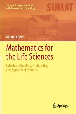 book cover: Mathematics for the Life Sciences