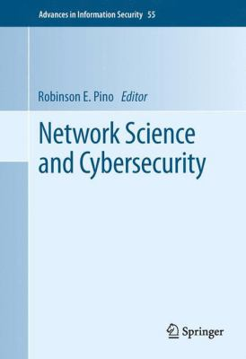 book cover:  Network Science and Cybersecurity