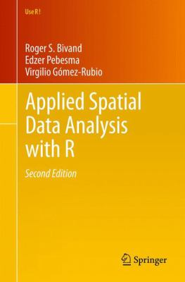Book Cover : Applied Spatial Data Analysis with R