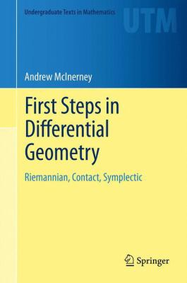book cover: First Steps in Differential Geometry