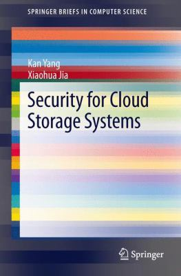 book cover: Security for Cloud Storage Systems