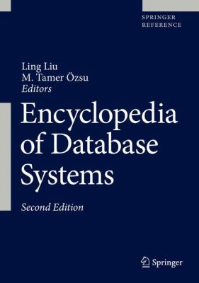 book cover: Encyclopedia of Database Systems