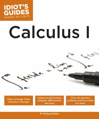 book cover - Calculus I