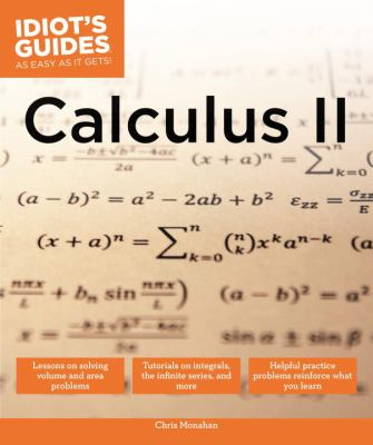 book cover - Calculus II