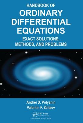 book cover - Handbook of Ordinary Differential Equations