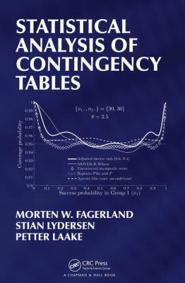 book cover: Statistical Analysis of Contingency Tables