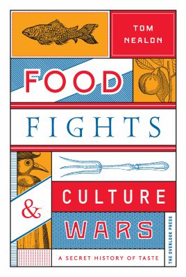Cover Art for the book food fights and culture wars.