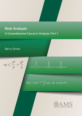 book cover: A comprehensive course in analysis