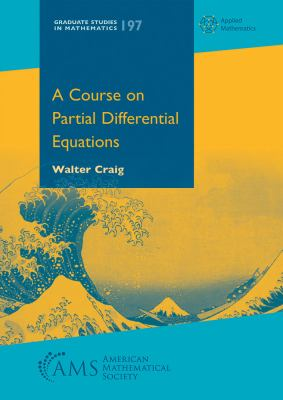 book cover - A Course on Partial Differential Equations
