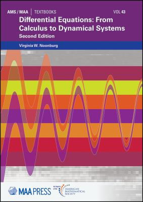 book cover - Differential Equations : from calculus to dynamical system