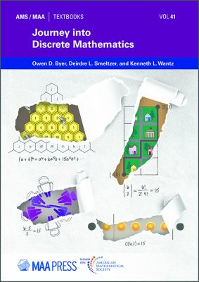 book cover: Journey into Discrete Mathematics