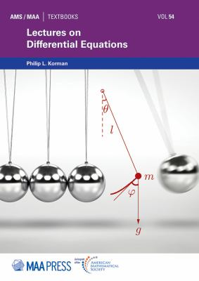 book cover - Lectures on Differential Equations