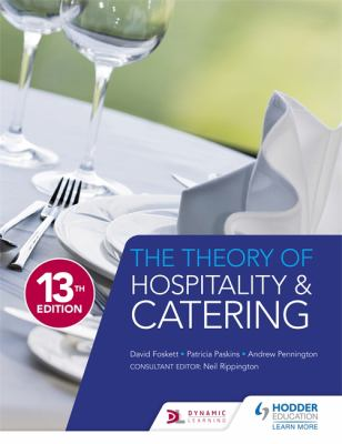 Cover Art for The Theory of Hospitality and Catering by David Foskett; Patricia Paskins; Andrew Pennington; Neil Rippington