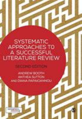 book cover of Systematic Approaches to a Successful Literature Review