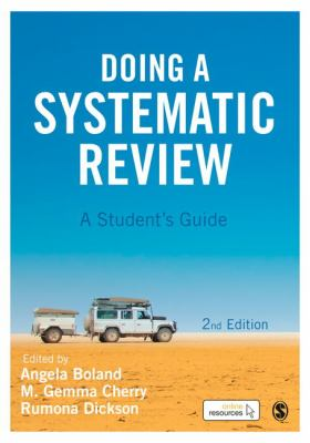 book cover of Doing a Systematic Review