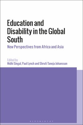 Image of cover of Education and Disability in the Global South.