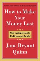 How to Make Your Money Last book cover