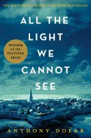 Book cover for All the Light We Cannot See by Anthony Doerr