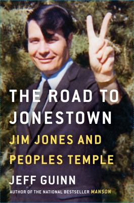 Cover Art features a picture of Jim Jones making a peace sign.