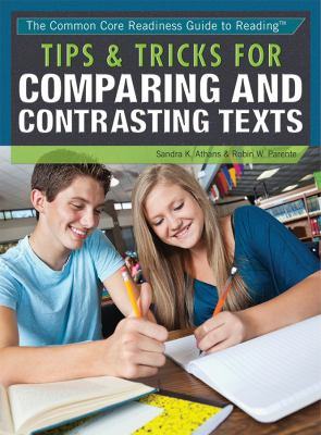 Tips and Tricks for Comparing and Contrasting texts